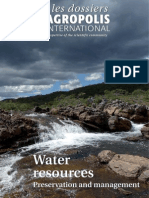 Water Resources Preservation and Management - Les dossiers d'Agropolis International