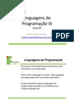 Aula 02 - Linguagem de Programacao III - Eventos - Java-Swing
