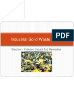 Industrial Solid Waste - Toxic