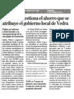 VE120122 PSOE Cuestiona Aforro