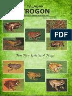 Reptiles of W Ghats, Malabar Trogon Vol 9 (1 & 2)