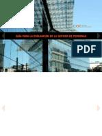 Guía para la evaluación de la gestión de personas