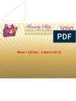 Sa Sa 34th Anniversary Beauty Dip Weekly Winner List (Week 1 & 2)