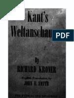 Kroner Kants Weltanschauung