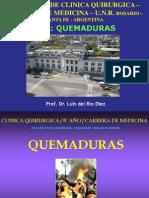 Seminario de Quemaduras en Clinica Quirurgica