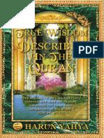 TRUE WISDOM DESCRIBED IN THE QURA'N