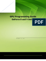 GPU Programming Guide Version for GeForce 8 and Later GPUs