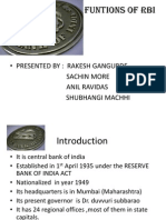 RBI FUNTIONS