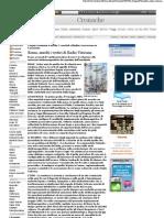 2007 - maggio 05 - Corriere della Sera - Roma, assolti i vertici di Radio Vaticana