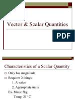 Vector & amp ScalarQuantities PPTass