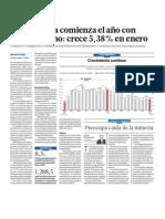 Economía del Perú demuestra excelentes signos de crecimiento