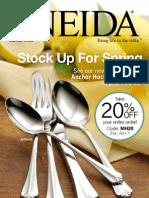 Oneida.com Spring 2012 Catalog
