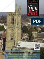2012 Derbyshire Signpost