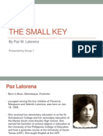 The Small Key - Group 1