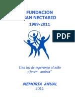 Memoria 2011 Fundacion y Escuela