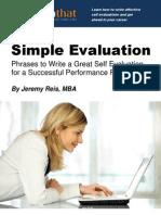 Simple Evaluation