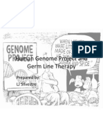Human Genome Project and Germ Line Therapy