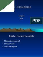 El Classicisme