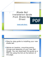 Shade Sail Installation Guide From Shade Sails Direct