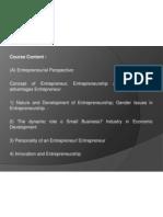 Entrepreneurship CHP 1