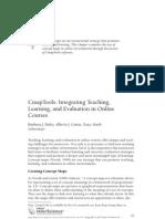 CmapTools Integrating Teaching