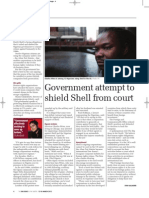 Government attempt to shield Shell from court