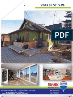 2847 38 St Sw - Feature Sheet