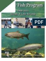 2011 Trophy Fish Program