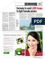 TheSun 2008-11-27 Page11 Germany to Send 1400 Troops to Fight Somalia Pirates