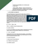 Polymer Solubility