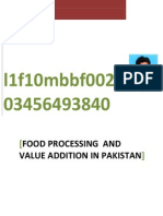 Food Processing and Value Addition by Sikandarr Ehsan