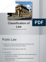 classificationoflaw1-110327231022-phpapp01