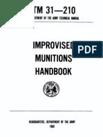 Improvised Improvised Munitions Handbook