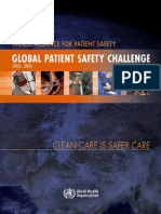 Global Patient Safety Challenge - WHO