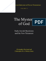 The Mystery of God, Early Jewish Mysticism and the New Testament
