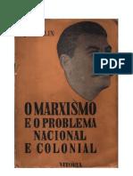 O Marxismo e o Problema Nacional e Colonial - Stálin (I)