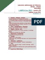 LAMPEA-Doc 2012 – numéro 10 / vendredi 16 mars 2012