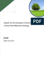 CBMM Critical Raw Materials Report Issue 1 16June11