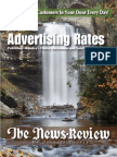 News-Review Advertising Rate Card