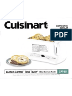 Cuisinart CPT-65 4-Slice Electronic Toaster