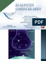 Farmacologia Relajantes Neuromusculares 1p 2012