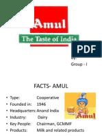 Group I Amul