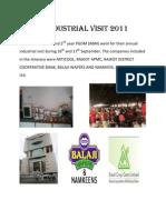 Industrial Visit 2011