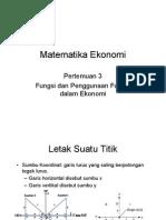 Matematika Ekonomi_pertemuan3