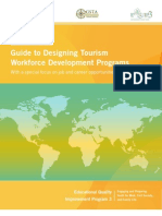 Guide to Designing Tourism Workforce Development Programs