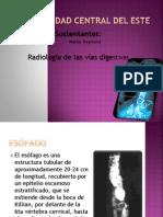 Radiología de las vías digestivas