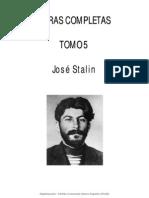 S.stalin-Obras Completas Tomo5