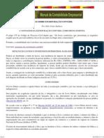 DICAS DE CONTABILIDADE