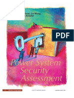 Power System Security Assessment