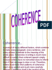 coherence in writing